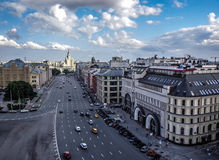 Centro de Moscú Foto de archivo libre de regalías