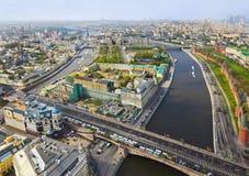 Centro de Moscovo (Rússia) fotografia de stock royalty free
