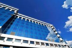Centro de negócio moderno novo fotografia de stock royalty free