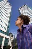 Centro de negócios Fotografia de Stock Royalty Free