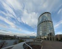 centro de negócios da Miscow-cidade Fotografia de Stock Royalty Free