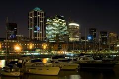 Centro de negócios de Buenos Aires fotos de stock royalty free