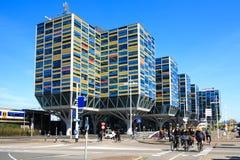 Centro de negócios de Leiden Fotografia de Stock Royalty Free