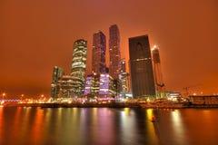 Centro de negócios de Moscou Fotos de Stock Royalty Free
