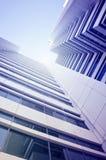 Centro de negócios do arranha-céus Foto de Stock Royalty Free