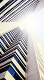 Centro de negócios do arranha-céus Imagens de Stock