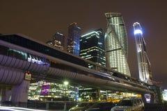 Centro de negócios do International de Moscovo Foto de Stock