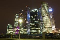 Centro de negócios do International de Moscovo Imagem de Stock Royalty Free