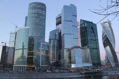 Centro de negócios do International de Moscovo Imagem de Stock