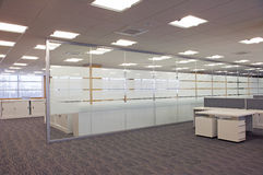 Centro de negócio novo Fotografia de Stock