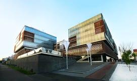Centro de negocio de la ciudad de Timisoara Imagenes de archivo