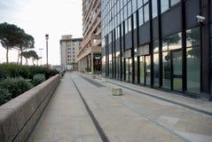 Centro de negocio de Nápoles Imagen de archivo libre de regalías