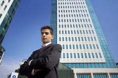 Centro de negocios Foto de archivo libre de regalías