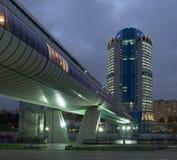 centro de negocios de la Moscú-ciudad Imagen de archivo libre de regalías