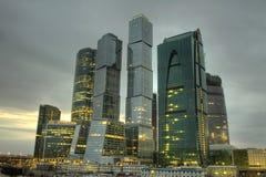 Centro de negocios de Moscú Foto de archivo