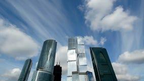 Centro de negocios de Moscú almacen de video