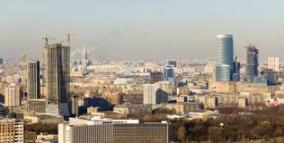 Centro de negocios de Moscú Imagen de archivo