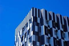 Centro de negocios del dominó Fotografía de archivo