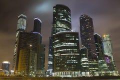 Centro de negocios del International de Moscú Imagen de archivo