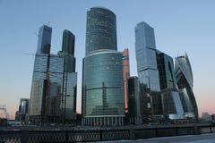 Centro de negocios del International de Moscú Imagenes de archivo