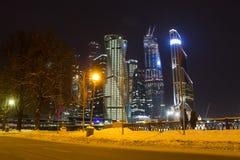 Centro de negocios del International de Moscú Foto de archivo