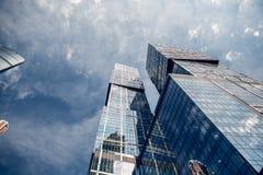 Centro de negocios del International de Moscú de la Moscú-ciudad Fotografía de archivo libre de regalías