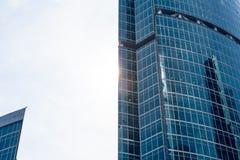 Centro de negocios del International de Moscú de la Moscú-ciudad Imagen de archivo