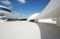 Centro de Niemeyer Fotos de archivo