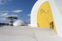 Centro de Niemeyer Foto de Stock