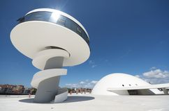 Centro de Niemeyer Foto de archivo