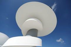Centro de Niemeyer Fotografía de archivo libre de regalías