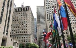 Centro de Nueva York Rockefeller fotos de archivo