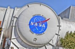 Centro de pesquisa da NASA Ames--Túneis de vento Fotos de Stock Royalty Free
