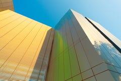 Centro de pesquisa educacional da construção Imagem de Stock
