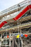 Centro de Pompidou em França Imagem de Stock Royalty Free