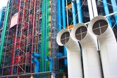 Centro de Pompidou em França Imagens de Stock Royalty Free