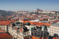 Centro de Praga Fotografia de Stock Royalty Free