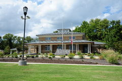 Centro de recepción de Arkansas, Helena Arkansas Imagen de archivo
