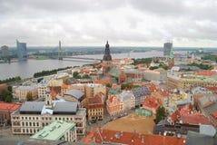 Centro de Riga Imágenes de archivo libres de regalías