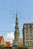 Centro de Riga. foto de stock royalty free