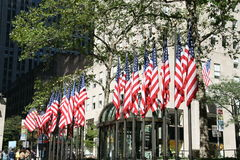 Centro de Rockefeller Imágenes de archivo libres de regalías