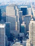 Centro de Rockefeller e a parte superior do obervatório da rocha em New York Imagem de Stock Royalty Free
