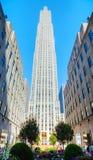 Centro de Rockefeller en New York City Fotos de archivo libres de regalías