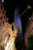 Centro de Rockefeller, New York City foto de archivo libre de regalías