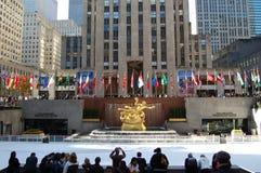 Centro de Rockefeller, Nueva York Imagen de archivo libre de regalías
