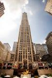 Centro de Rockefeller, Nueva York Foto de archivo libre de regalías