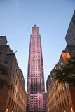 Centro de Rockefeller, NYC Imágenes de archivo libres de regalías