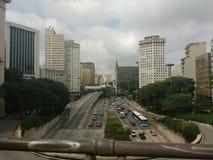 Centro de São Paulo foto de stock royalty free