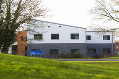 Centro de saúde de Wolverton em Milton Keynes, Inglaterra Imagem de Stock