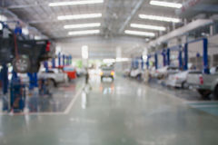 Centro de serviço de reparações do carro Fotografia de Stock